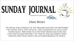 sunday journal state senator dan wolf from august 17th 2014