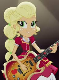 applejack hairstyles 1332467 alternate hairstyle applejack bass guitar clothes