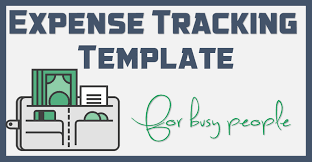 Expense Tracker Template For Excel Free Template 1 Page Excel Expense Tracker For Busy