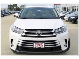toyota company limited new 2017 toyota highlander limited 4d sport utility in crystal