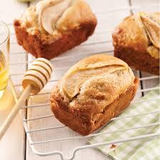cuisine au miel mini pains aux poires miel et cardamome recettes cuisine et