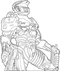 halo coloring pages printable virtren com