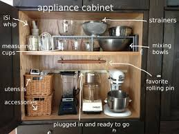 appliance cabinets kitchens kitchen appliance garage cheap omega national straight tambour
