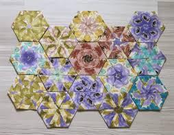 how to sew kaleidoscope hexagons geta u0027s quilting studio