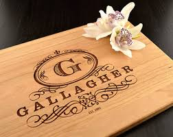 engraved cutting boards personalized cutting boards and custom wedding by truemementos