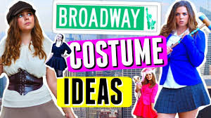 5 diy halloween costumes broadway musical edition theatre