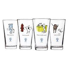 cool glassware cool beer glasses unique beer gifts cool beer mugs uncommongoods