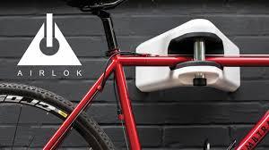 airlok high security bike storage hanger store lock by hiplok