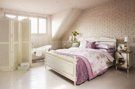 Lavender Bathroom Ideas by Cool Teen Attic Lavender Bedroom Idas With White Wardrobe Also