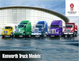 paccar trucks kenworth truck models brochure features u0027world u0027s best trucks