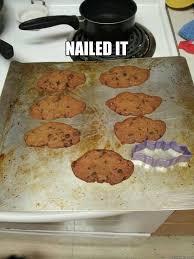 nailed it batman cookies quickmeme