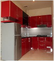 kitchen red kitchen cabinets what color walls pretentious red