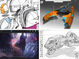 the top ten photoshop alternatives for drawing and painting car