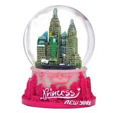 york princess snow globe