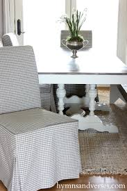 new dining room chairs hymns and verses new ikea henriksdal dining room chairs with gray check slipcovers