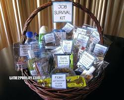 office gift baskets gifts for new office survival basket someone just beginning a