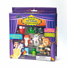 passover toys passover toys ten plague finger puppets set