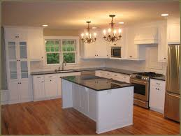 contractor grade kitchen cabinets kitchen remodel builder grade kitchen makeover with white paint