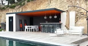 cuisine d été en bois cuisine d ete moderne exterieure bois lzzy co