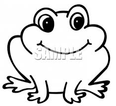 cartoon frog outline important princess frogs