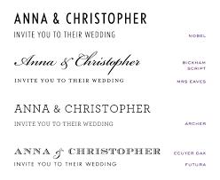 wedding invitations font wedding invitation fonts at emily jo