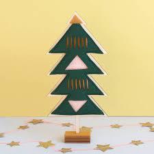 free standing felt christmas tree by house of hooray