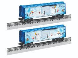 frosty snowman boxcar