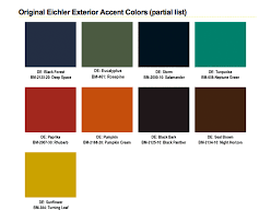 mid century modern color palette 9895