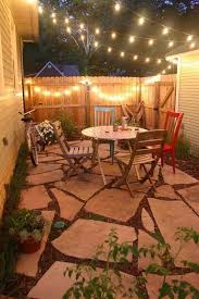Ideas For Backyard Patios by Best 25 Small Backyard Patio Ideas On Pinterest Small Fire Pit