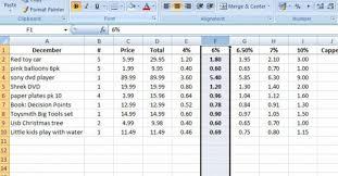How To A Simple Spreadsheet Simple Spreadsheet Thebridgesummit Co
