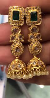 new jhumka earrings gold earrings page 8 boutiquedesignerjewellery