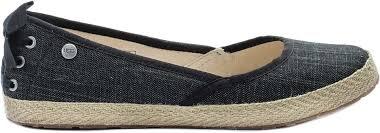 ugg womens indah shoes black ugg 1003493 blk indah ballet s shoe black at shoe palace