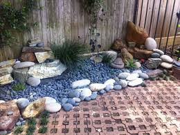 meditation dried river rock garden yahoo image search results