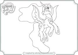 pony coloring pages nightmare moon printable coloring
