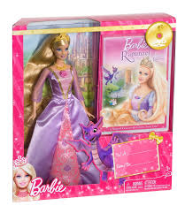 image barbie rapunzel doll dvd giftset png barbie