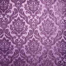 Velvet Chenille Upholstery Fabric Purple Chenille Damask Designer Upholstery Fabric Marcus