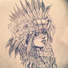 tattoo eagle tumblr native american girl drawing tumblr clipartxtras