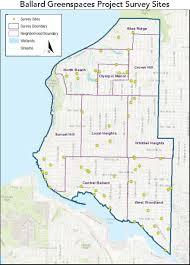 Seattle Terminal Map by Seattle U0027s Ballard Is Ripe For Green Space Restoration New Report