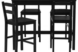 Narrow Kitchen Bar Table Tableith Bar Stools High Kitchen Ebay Pub Tables Diningalmart
