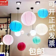 Paper Lantern Chandelier Usd 3 35 The Mid Autumn Festival Decorative Paper Lanterns