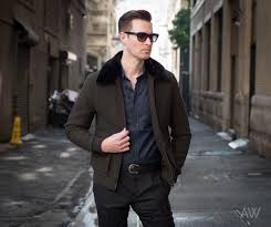 Wallace And Barnes Bomber Men U0027s Fall And Winter Casual Jackets