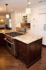 Range In Island Kitchen Creative Kitchen Design Manasquan New Jersey By Design Line Kitchens