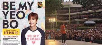 Bench Philippines Hiring Lee Min Ho Feels The Love And Makes New Promise In The Philippines