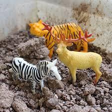 uggl animals figure 5 inch jungle animals toys set 10 pieces
