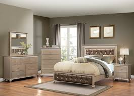 black bedroom sets for cheap 1008 hollywood chagne united furniture industries