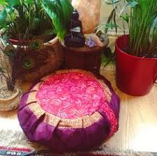 sari pattern zafu meditation cushion zafu meditation cushion pillow om lotus natural cushion pillow