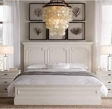 walnut and white bedroom furniture montpellier panel bed antiqued white walnut master pinterest