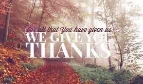 meditation monday a thanksgiving prayer the ministry of