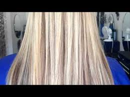 what do lowlights do for blonde hair bleach blonde hair with lowlights youtube