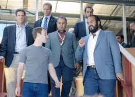 saudi u0027s deputy crown prince meets facebook founder mark zuckerberg